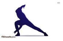 Yoga Illustration Silhouette Clipart Image