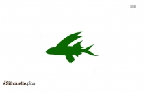 Mahi Mahi Silhouette Illustration