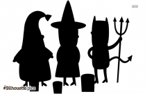 Halloween Costume Silhouette Picture