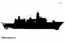 Carrack Ship Silhouette Image And Vector