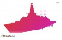 Cartoon Pirate Ship Silhouette For Free