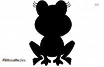 Princess And Frog Silhouette Image