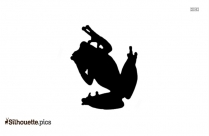 Frog Cute Cartoon Image Silhouette