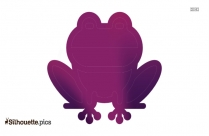 Frog Icon Silhouette Illustration