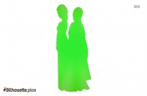 Frozen Anna And Elsa Silhouette Image And Vector