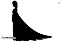 Frozen Elsa Silhouette Illustration
