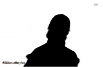 Peanut Man Silhouette Free Vector Art