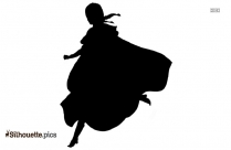 Jiminy Cartoon Character Silhouette