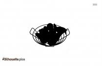 Fruit Bowl Silhouette Design