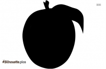 Cartoon Pineapple Silhouette Vector Image