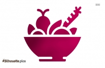 Fruits And Vegetables Silhouette Picture