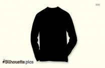 Full Sleeve T Shirt Silhouette
