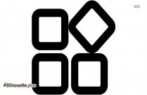 Scissors Custom Icon Design Silhouette