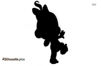 Baby Boy Clip Art Vector Silhouette