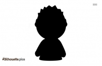 Cartoon Wondering Silhouette Picture