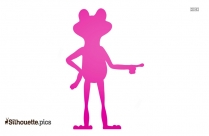 Frog Silhouette Clip Art