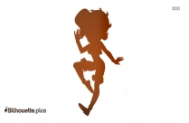 Funny Girl Betty Boop Silhouette