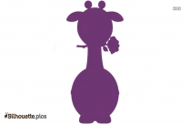 Giraffe Cartoon Silhouette Drawing