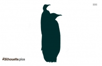 Funny Penguin Clip Art Silhouette Images