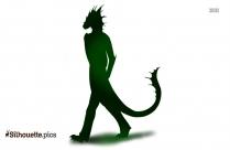 Fursona Dragon Silhouette