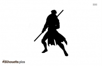 Gambit Character Silhouette Drawing