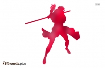 Gambit Character Silhouette Free Vector Art