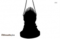 Game Of Thrones Iron Throne Ornament Silhouette