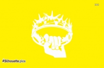 Game Of Thrones Stencil Silhouette Illustration