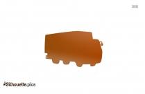 Cartoon Garbage Truck Silhouette Icon