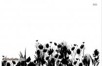 Garden Clipart Silhouette