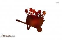 Wheelbarrow Image Download Silhouette