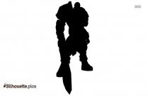 Quinn Lol Clipart || Quinn League Of Legends Silhouette
