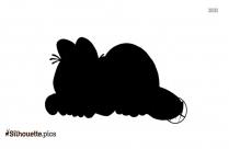 Garfield Predaguy Silhouette Image