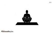 Cobra Pose Silhouette Drawing
