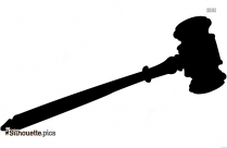 Gavel Silhouette Free Download