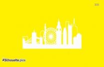 Generic City Skyline Silhouette