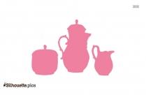 Teapot Silhouette Illustration