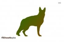 Australian Shepherd Dog Picture Silhouette