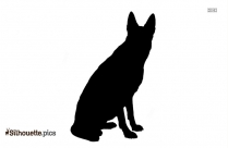 Cartoon Wolf Laughing Clipart Silhouette