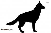 Terrier Dog Silhouette Vector