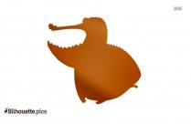 Disney Alligators Silhouette Clip Art