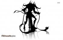 Ghost Demon Wolf Silhouette