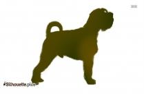 American Pit Bull Terrier Silhouette