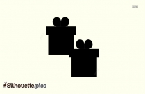 Gift Boxes Silhouette
