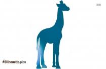Giraffe Animal Vector Clipart Best Silhouette
