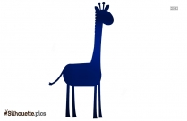 Giraffe Cartoon Silhouette Picture