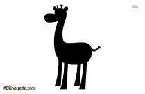 Giraffe Silhouette Picture Drawing