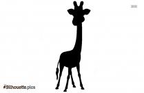 Giraffe Spot Black Silhouette