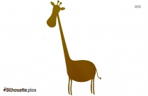 Cartoon Giraffe Drawing Silhouette