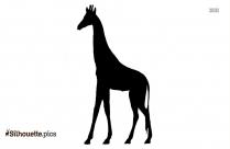Circus Giraffe Animal Silhouette